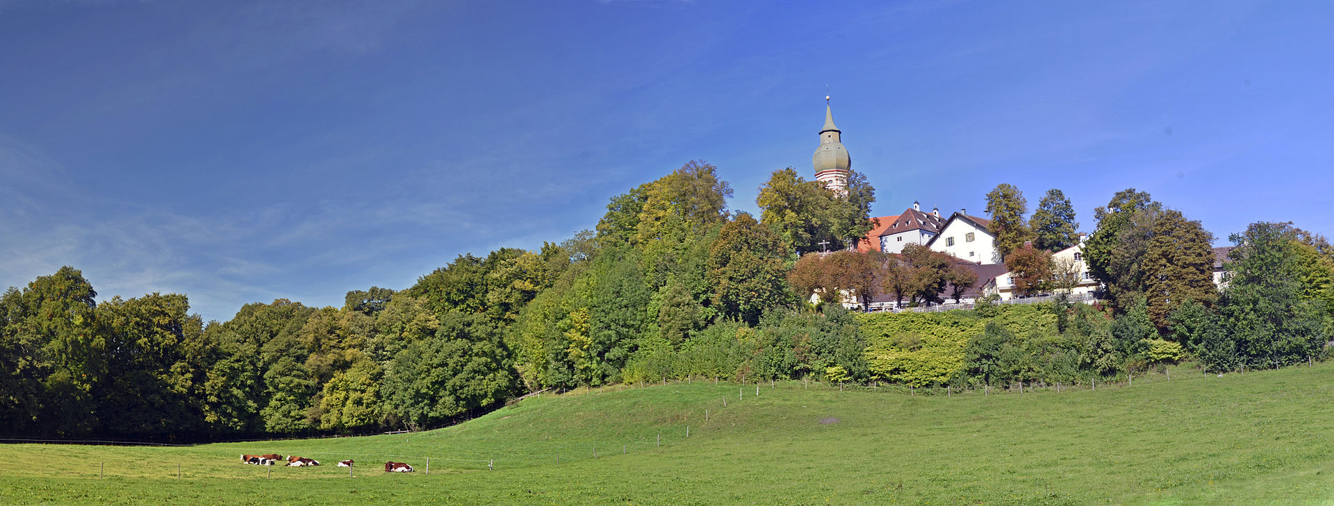 Kloster Andechs Panorama I
